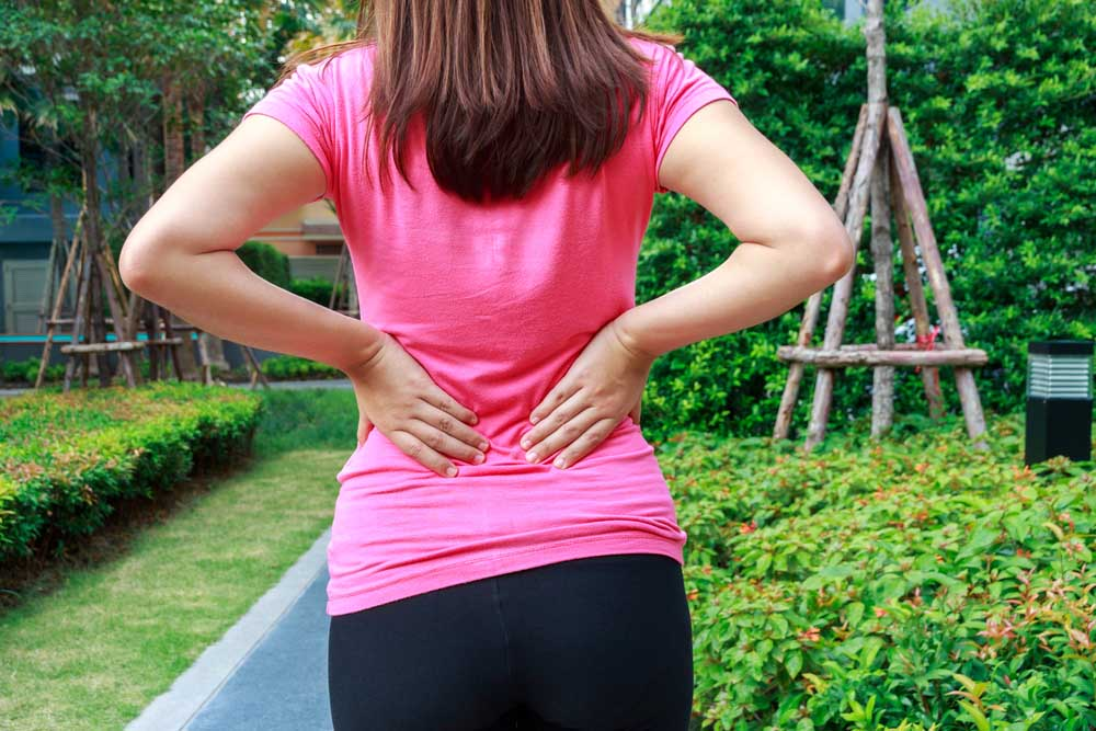 women has sciatica nerve pain in Fargo
